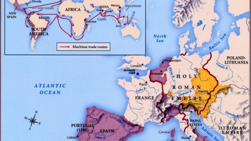 The Habsburg empire under Philip II