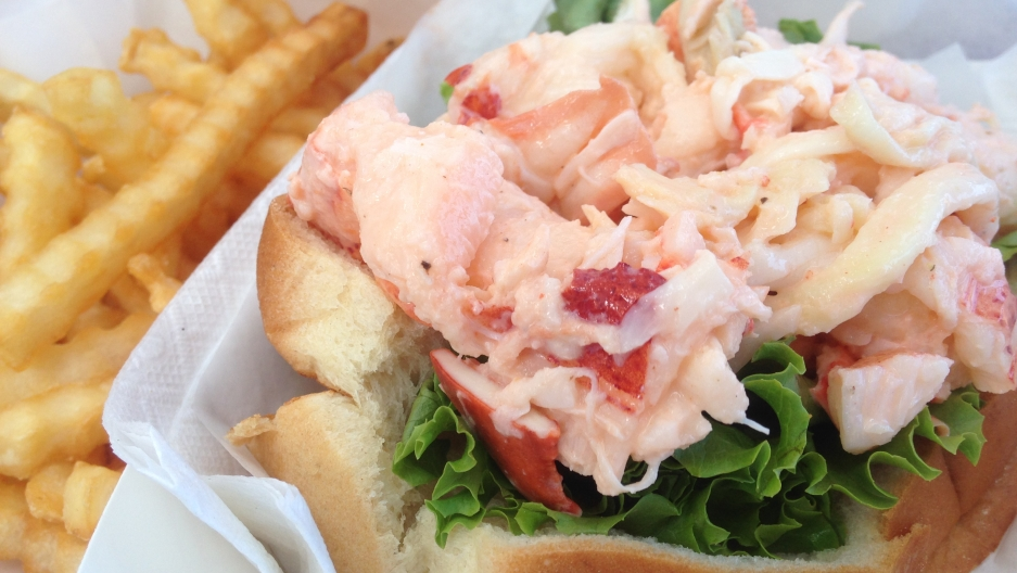 Not all lobster rolls come on a hot-dog bun