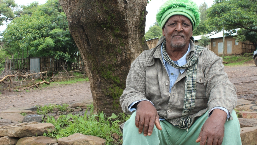Zumra Nuru, the founder and leader of Awra Amba.