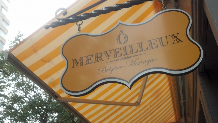 O Merveilleux, a new Belgian pastry shop on New York's Upper East Side
