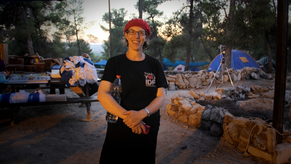 Romi Sussman moved from Los Angeles to a West Bank settlement 10 years ago.
