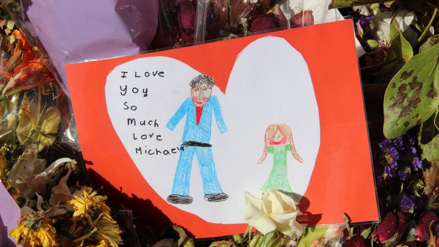 Child's tribute