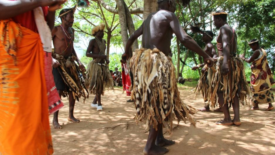 Malawi man dance