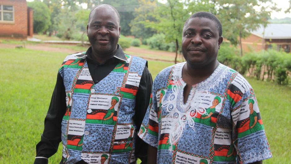 Chief Kwataine and Timothy Bonyonga