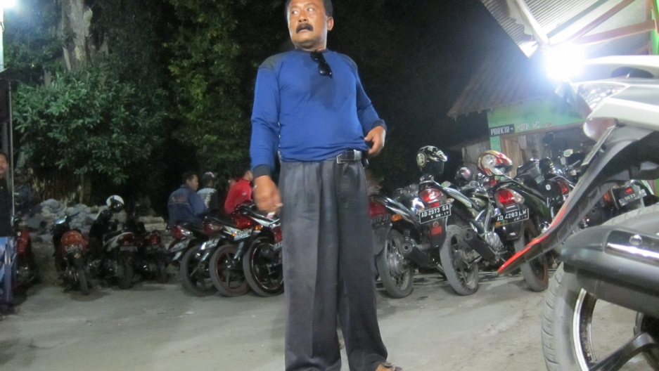 Man at the Gunung Kemukus hilltop Islamic shrine hoping that engaging in the ritual of anonymous sex will boost his fortunes.
