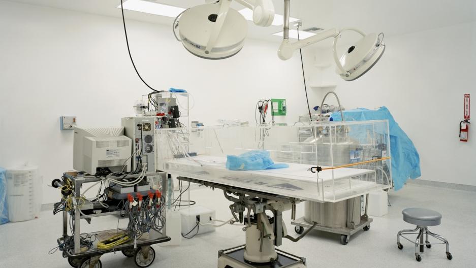 Operating room   Alcor Life Extension Foundation, Phoenix, Arizona, USA 2006