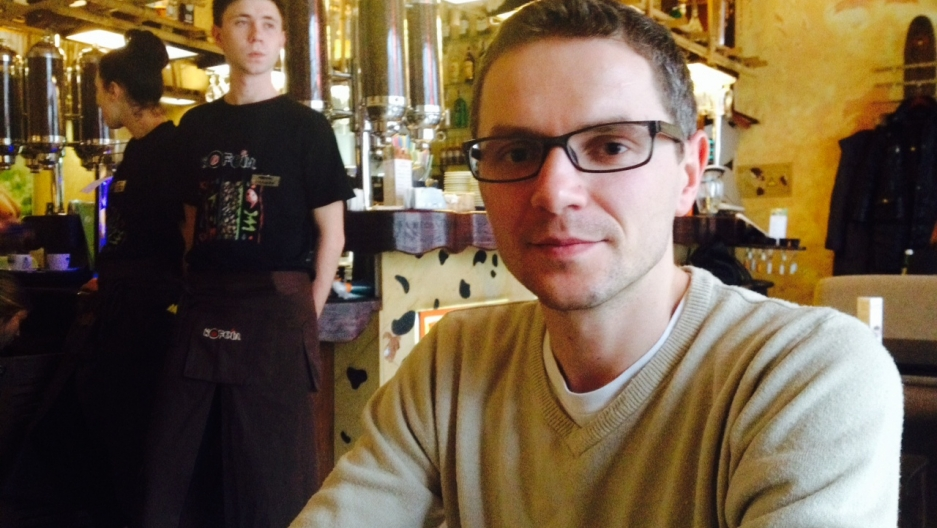 Vadim, originally from Western Ukraine, lives in Crimea. He says he'll have to leave Crimea if it joins Russia.