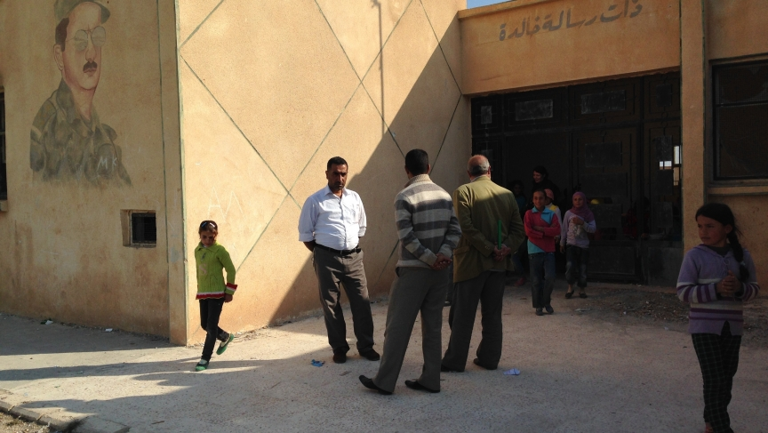 Radical Islamist fighters briefly had a base in Alouk's primary school. Arab villagers in Alouk say they'd prefer Bashar al-Assad in power rather than being ruled by al-Qaeda brigades.