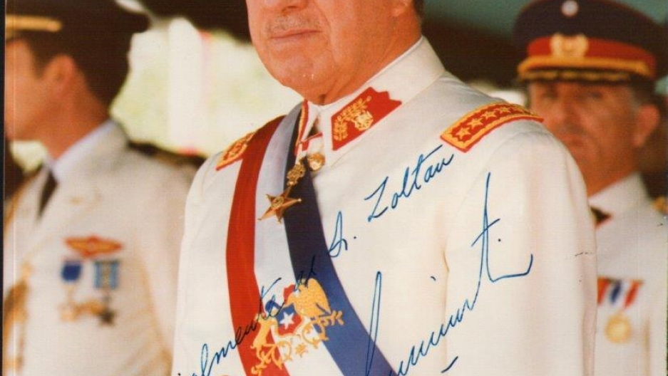 Under Hungary's Communist regime, it was dangerous for Zoltan to write to Chilean dictator Augusto Pinochet from Hungary and ask for his autograph. But in 1975, while visiting friends in England, Zoltan decided to send a request. Within a month, he receiv