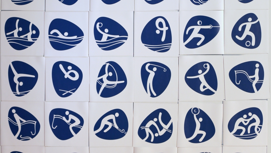 Pictograms for the 2016 Summer Olympics in Brazil