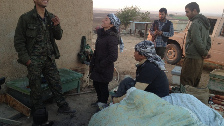 YPG fighters
