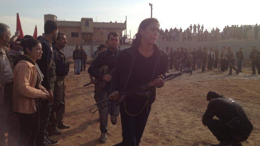 Men and women fighting alongside is nothing new for Kurdish militants