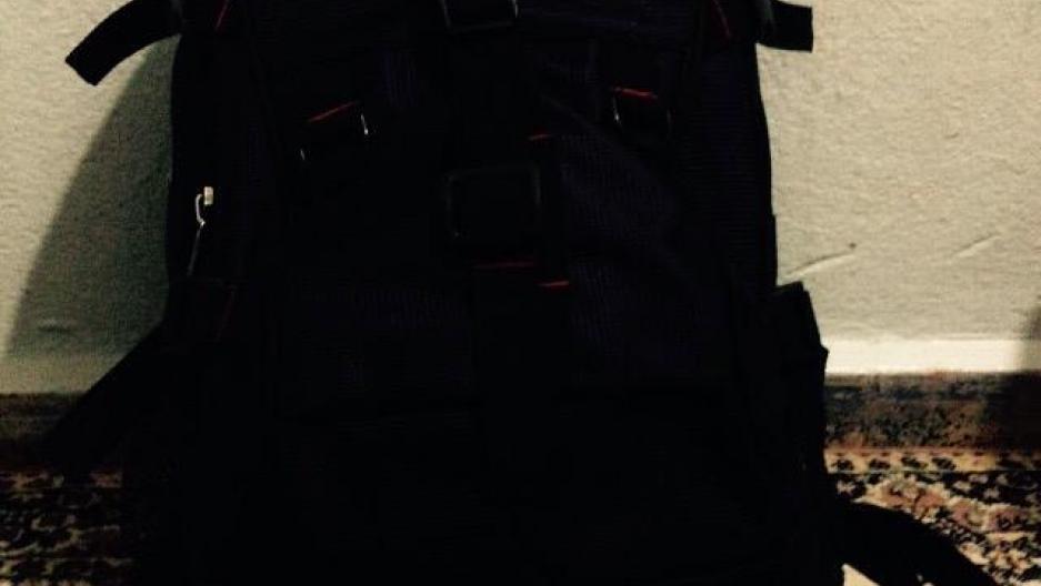 Amer's backpack