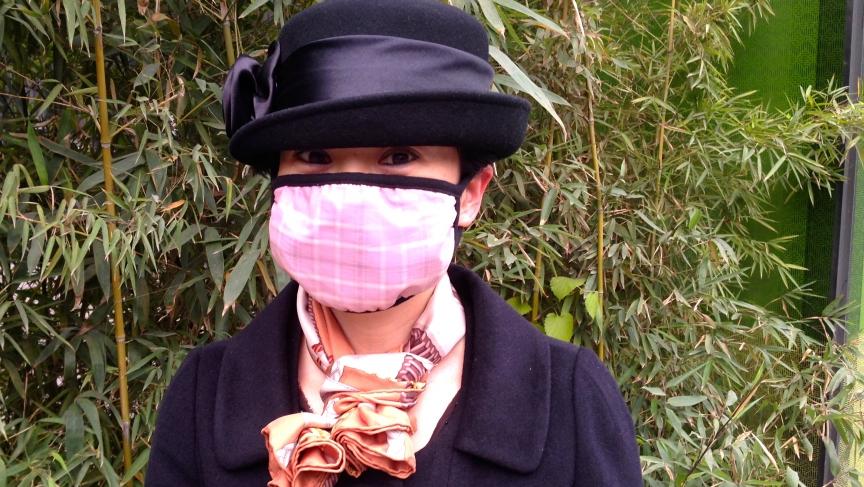 Respirators can be kind of posh too.