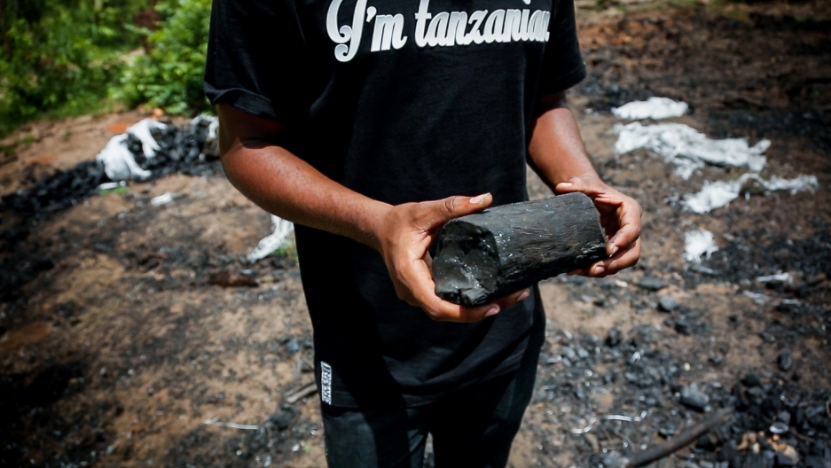 Ninety five percent of urban Tanzanians use charcoal for cooking fuel, and the trade supports more than a million jobs. But charcoal production is taking a massive toll on the country's forests. After a failed attempt to ban the trade the country is now t
