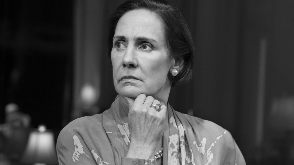 "Laurie Metcalf in ""Three Tall Women"""
