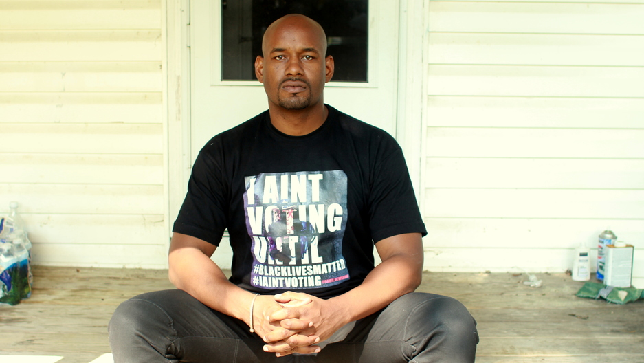 Black Lives Matter activist Hawk Newsome is calling for people to abstain from voting until the major parties listen to African American concerns.
