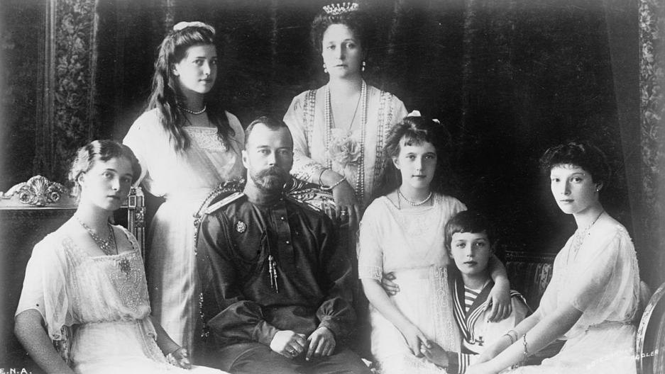 The Russian royal family