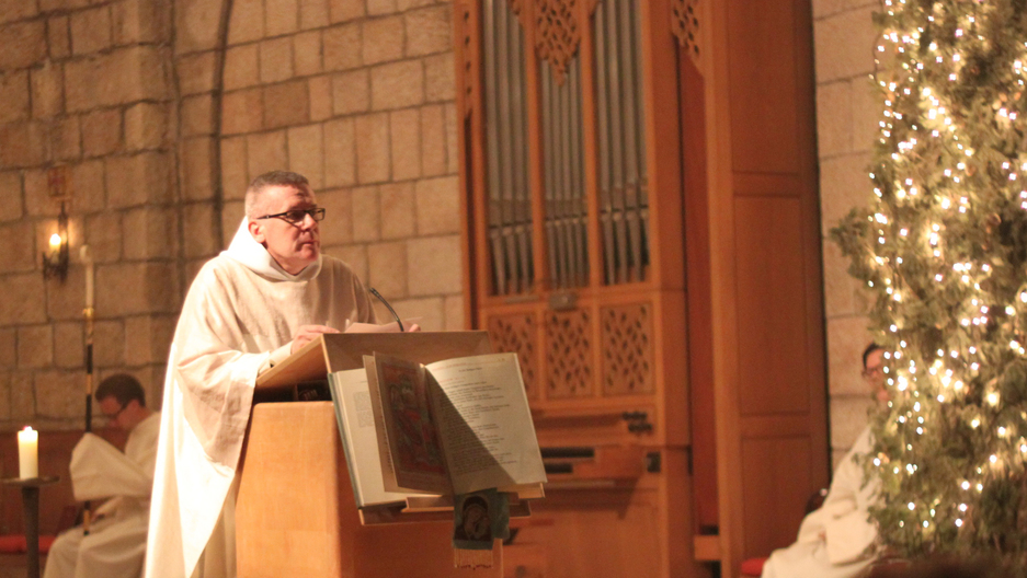 What do you preach to a church full of Jews at midnight mass at the ...