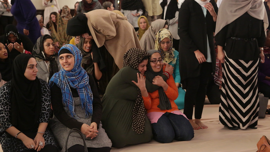 Congregants at the Women's Mosque of America
