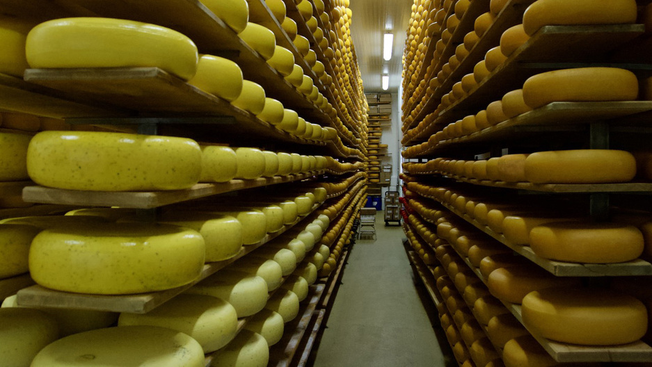 At Mountainoak Cheese in rural Ontario, their Gouda is winning awards. The owners support Canada's tariffs on cheese imports.