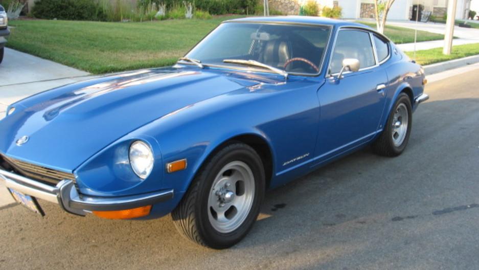 An original 1971 Datsun 240-Z