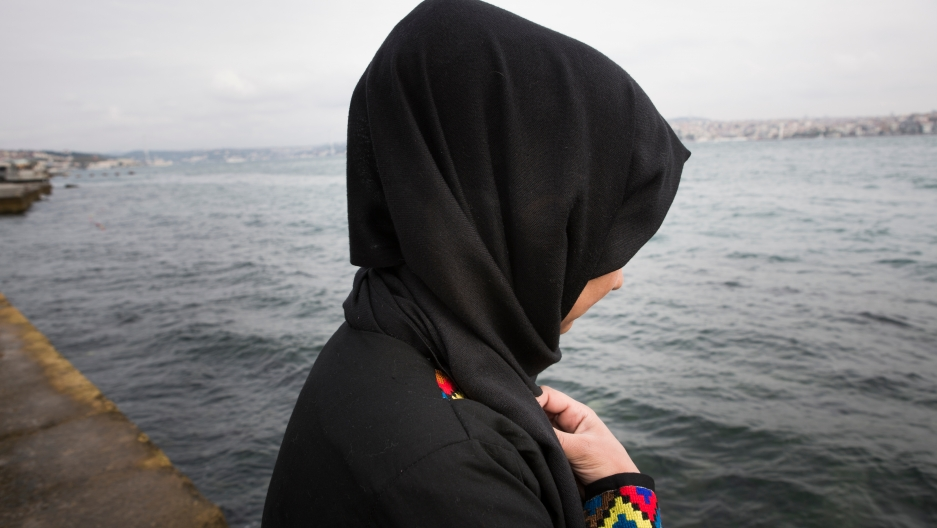 Hoor, 16, arrived in Istanbul in late June