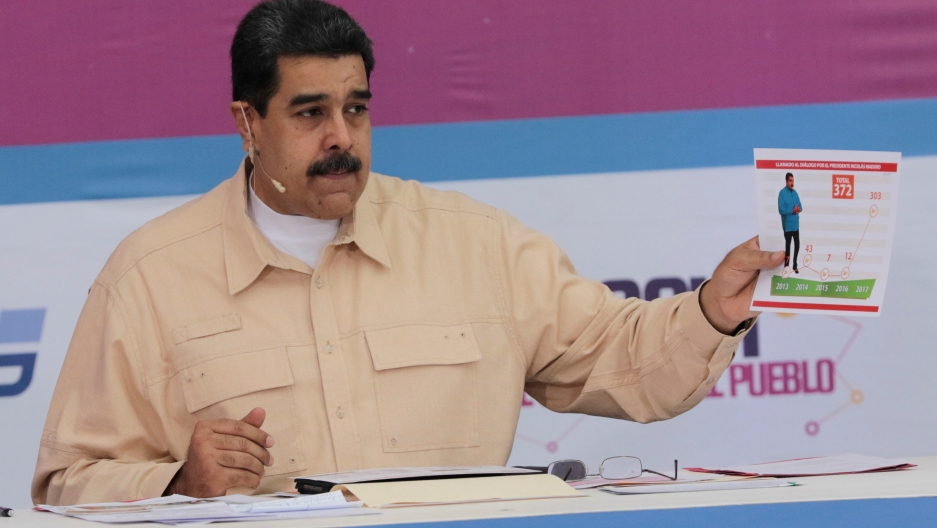 Venezuelan President Nicolas Maduro announced the creation of the new cryptocurrency, Petro.