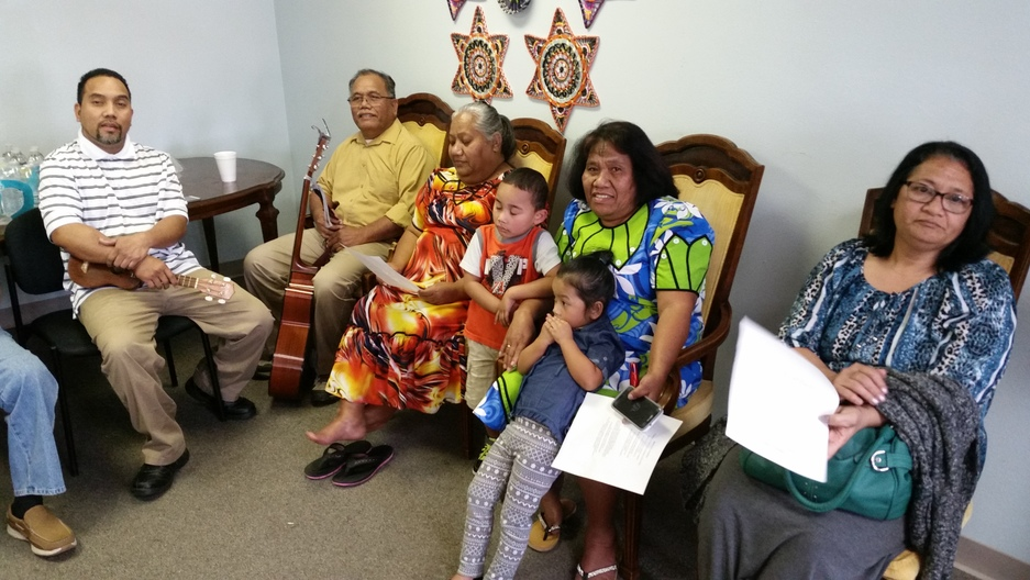 A gathering of Marshallese immigrants in Springdale, AR