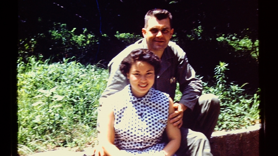 Sook Ei and George Lampman met at the US embassy in Seoul in the months before the start of the Korean War.
