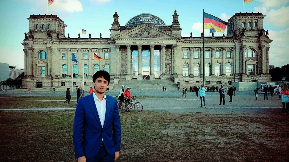 Afghani refugee, Ahmad Wali Temory, has worked in Germany's parliament with the goal of helping preserve the policies that brought him to Germany.