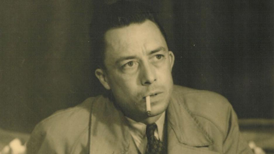 Albert Camus in 1957.