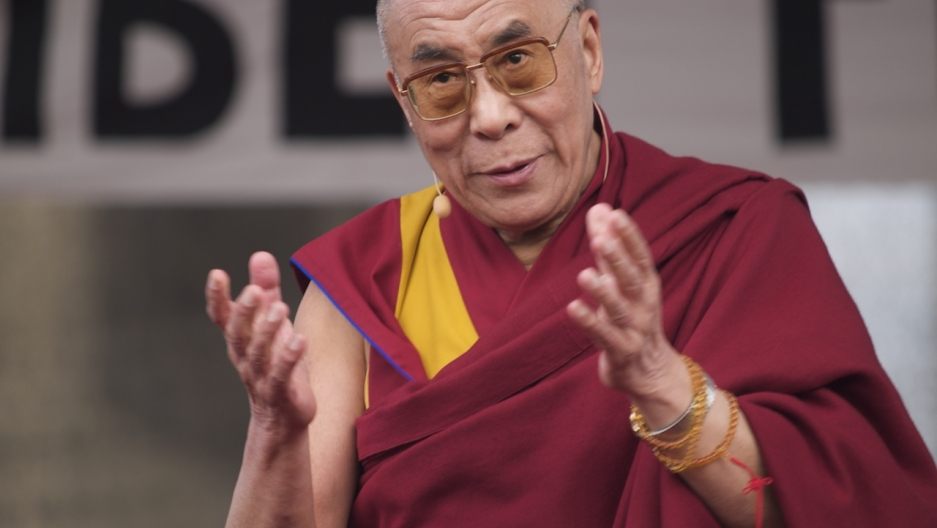 The Dalai Lama in Berlin