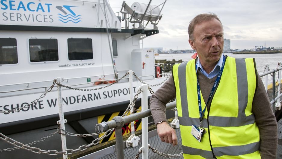 """It sounded a load of rubbish"" is how Grimsby port chief Martin Boyers remembers reacting to a plan to create a maintenance hub for new offshore wind farms in the depressed city. ""I didn't know anything about renewables."""