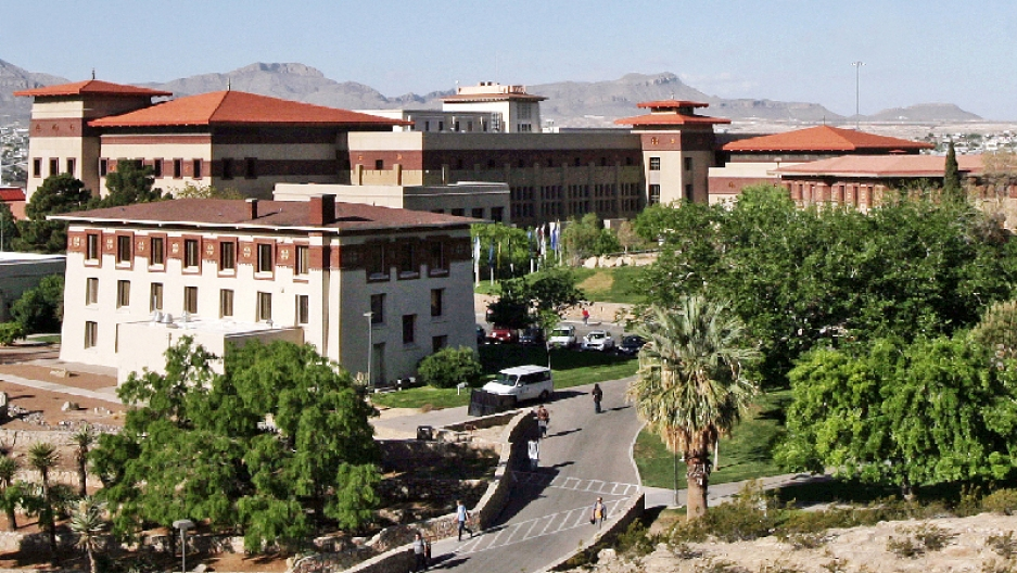 The architecture at the University of Texas at El Paso owes a lot to the Himalayan Kingdom of Bhutan. It all dates back to a National Geographic article in 1914.
