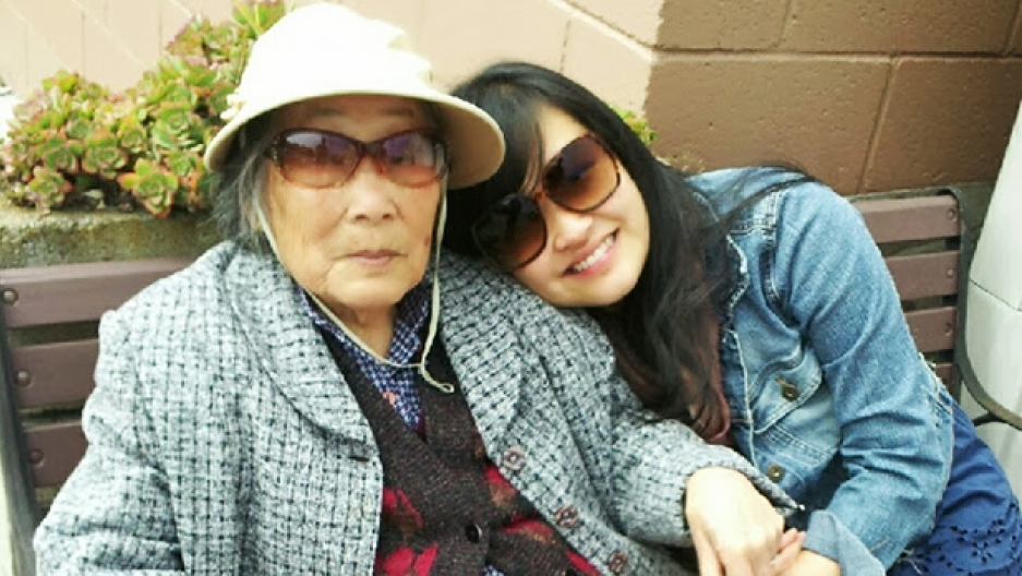 Donna Tam and her grandmother, from China, share a home in San Francisco, along with Tam's brother and parents.