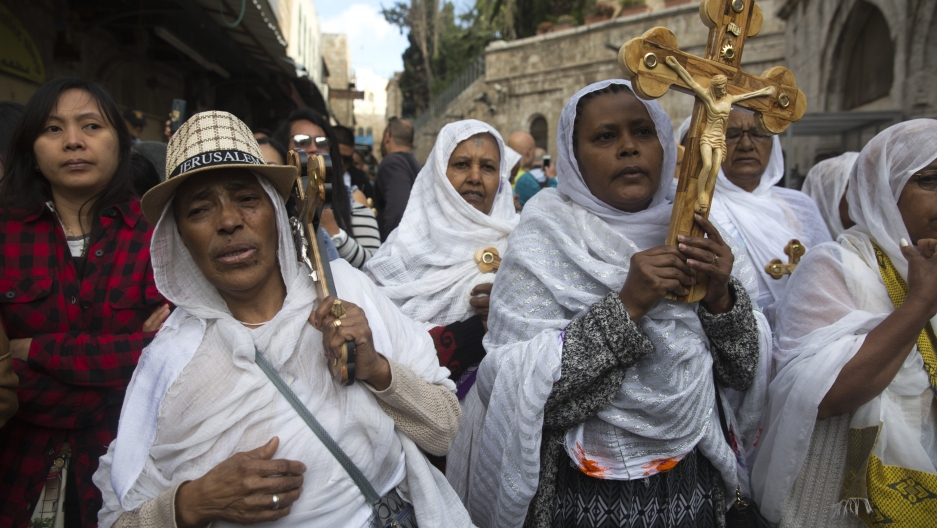 Christians celebrate Easter across conflict-torn Mideast