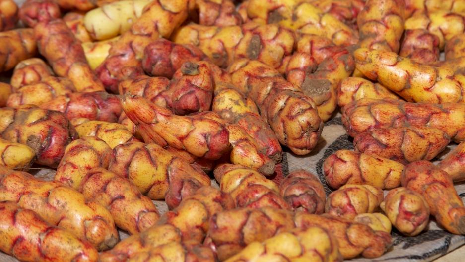 Peruvian papas