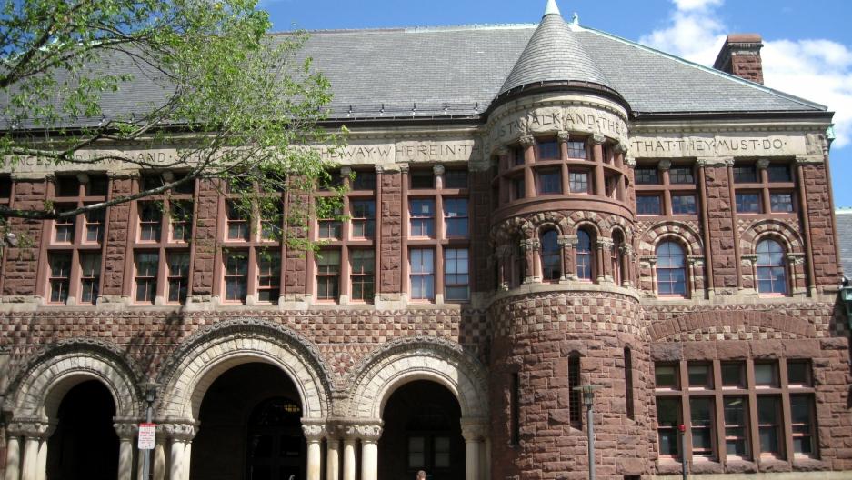 Harvard Law building