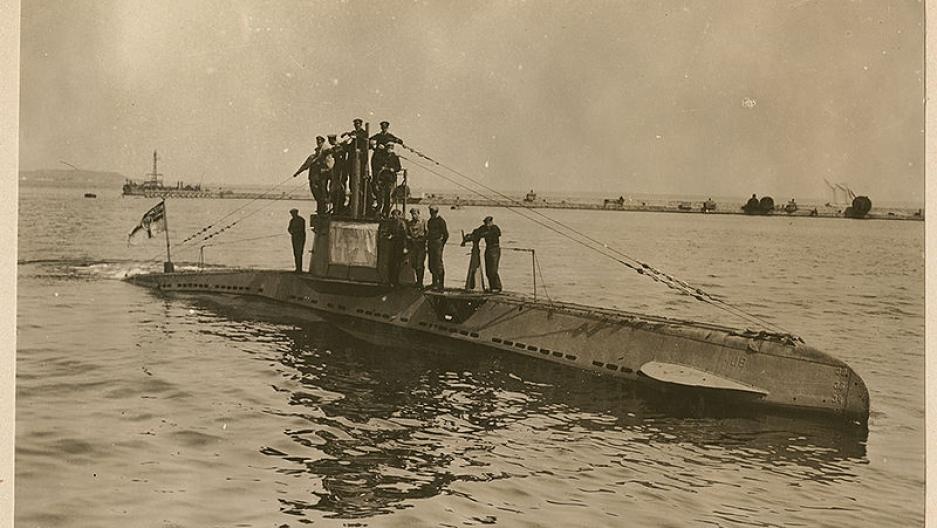 U Boat When World War I hit A...