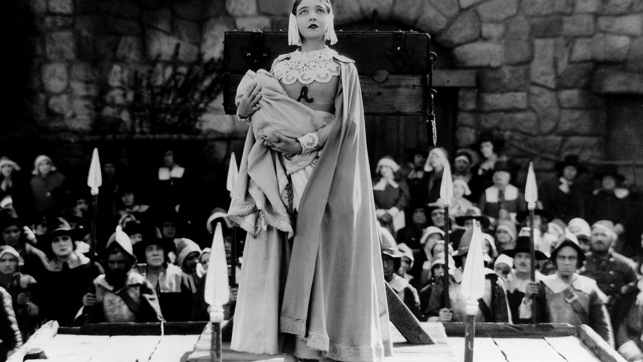 Lillian Gish in the Scarlet Letter 1929