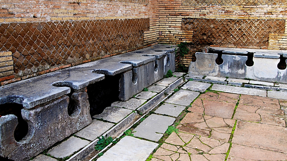 Ancient latrines