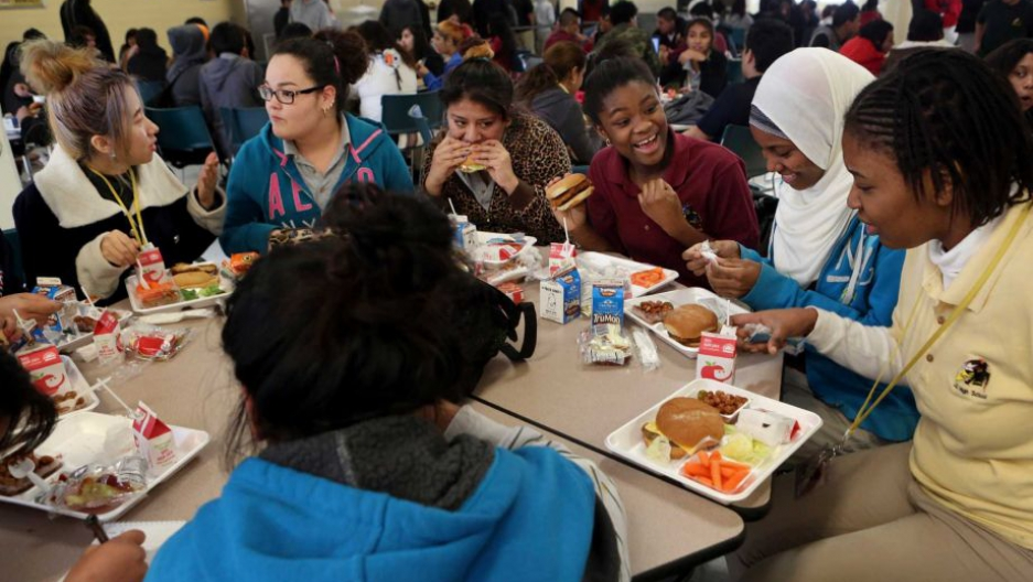 At One Lunch Table 10 Girls From Nine Countries Share Stories From A