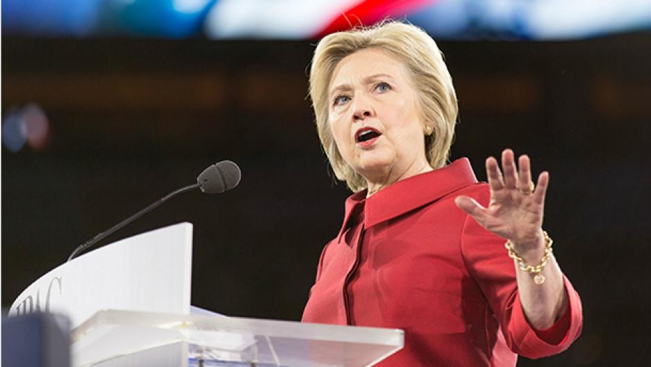 Clinton speaking