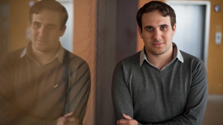 Nir Gaist, 25-year-old owner of the Israeli firm Nyotron.