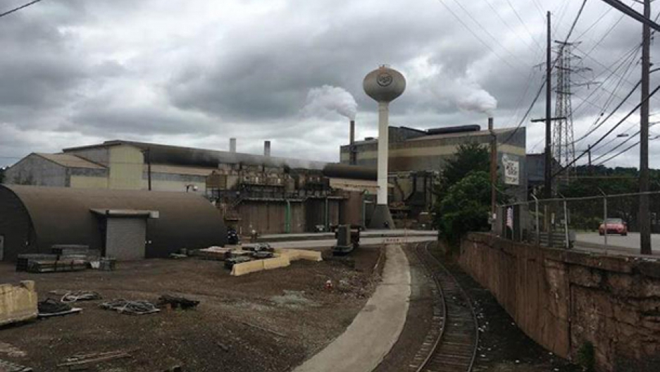 Pollution from US Steel's Edgar Thomson steel mill