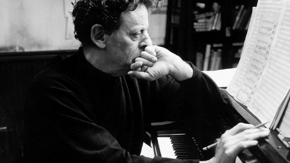 Composer Philip Glass in 2002.