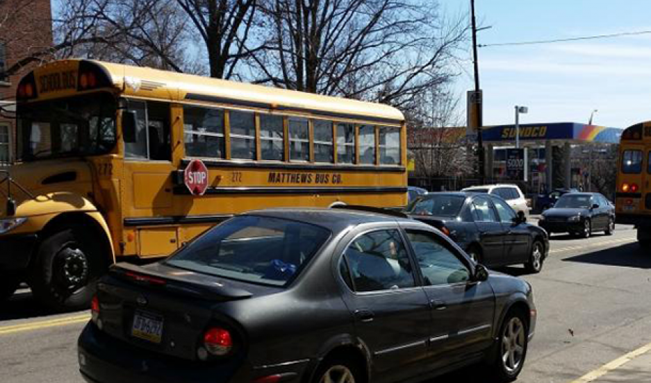 New EPA legislation will require that school buses shut down their engines after 5 minutes of idling. Some newer buses automatically turn off after a few minutes of idling.