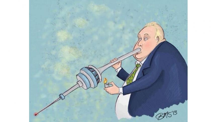 Toronto mayor smoking crack