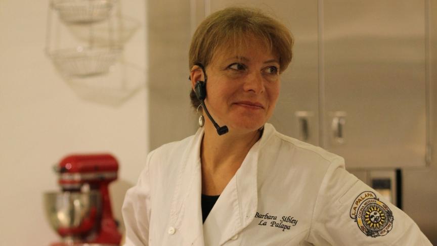 Chef Barbara Sibley of La Palapa Cocina Mexicana in New York